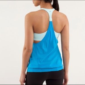 Lululemon Athletica Practice Freely Sports Tank